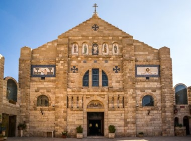 St. George Curch Of Madaba