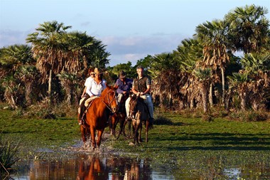horserback riding Ibera Wetlands