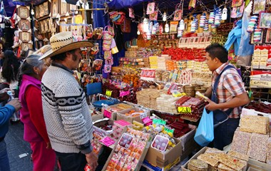 Mexico City - market