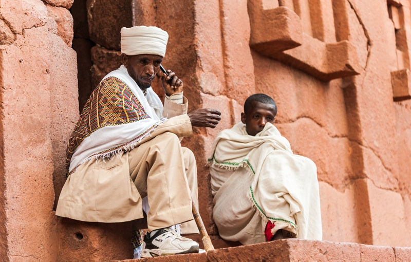 Reizen naar Ethiopië