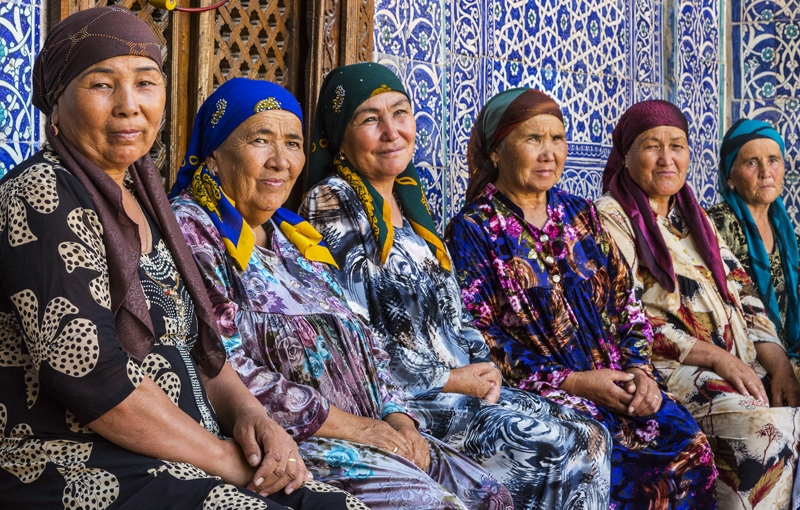 Koning Aap: Rondreis CENTRAAL-AZIË - 22 dagen; Turquoise mozaïeken