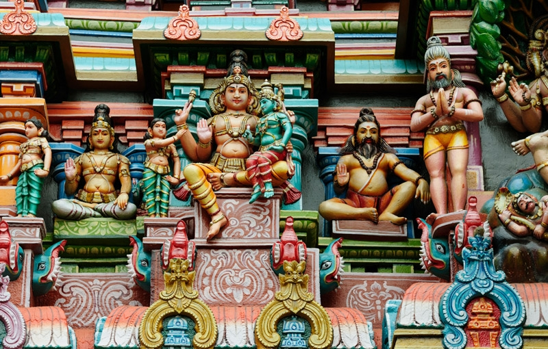 Koning Aap: Rondreis ZUID-INDIA - 29 dagen ; Rijkdom van geuren en kleuren
