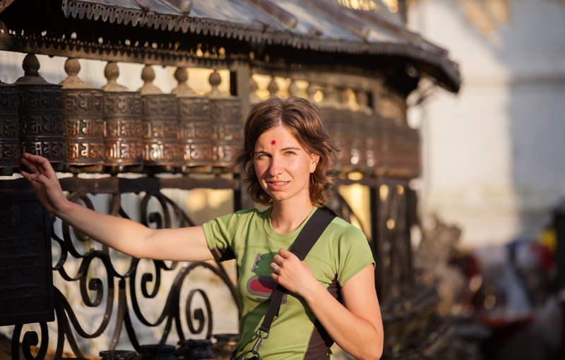 Koning Aap: Familiereis INDIA EN NEPAL AVONTUUR - 22 dagen; Gebedsvlaggen en heilige koeien