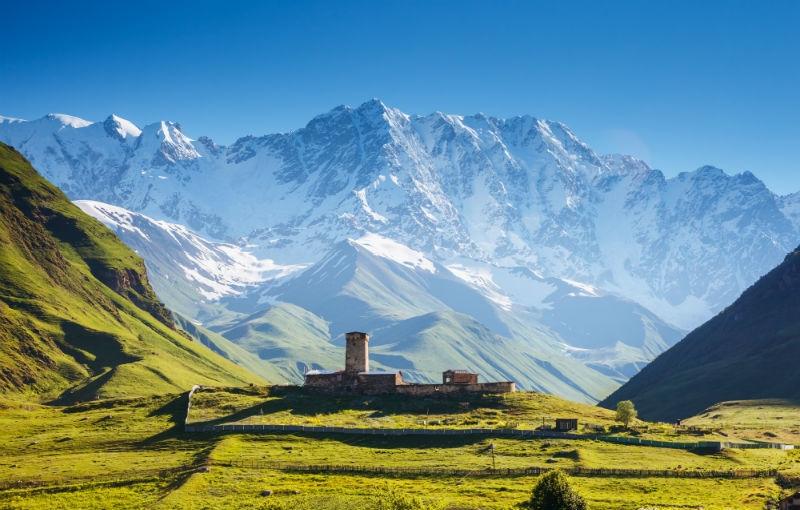 Koning Aap: Rondreis AZERBAIJAN, GEORGIË EN ARMENIË - 23 dagen; Hoogtepunten van de Kaukasus