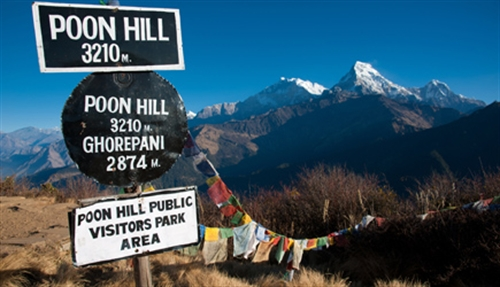 Poon Hill is dé plek