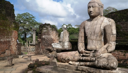 The ancient capital of Polonnaruwa