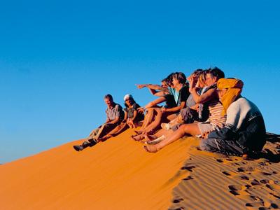 Shoestring: Groepsreis Marokko Zuid; Van woestijn naar zee