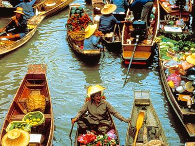 Shoestring: Groepsreis Thailand Totaal; Land van de Glimlach