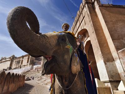 Shoestring: Groepsreis India on a Budget ; Schilderachtig Rajasthan en Spiritueel India