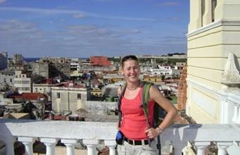 Brigit in Cuba