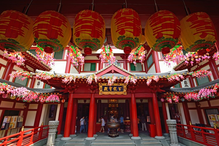 Buddha Tooth Relic Temple in China Town
