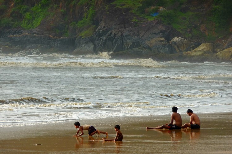 Kudle beach in Gokarna, India