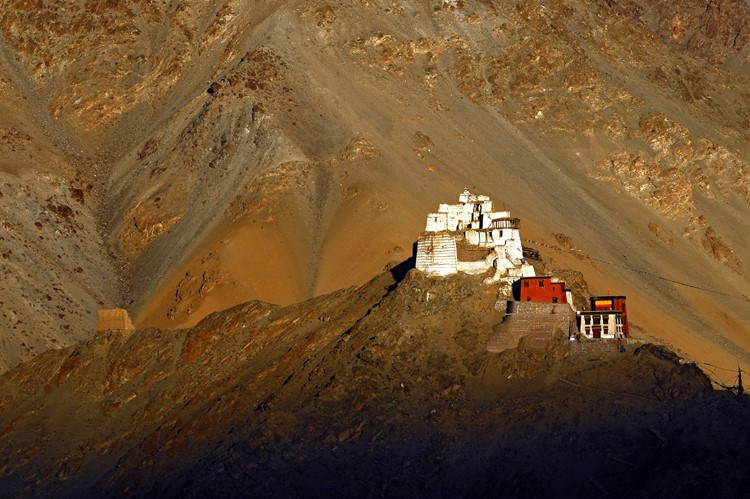 Namgyal Tsemo Gompa in Leh, Ladakh, India