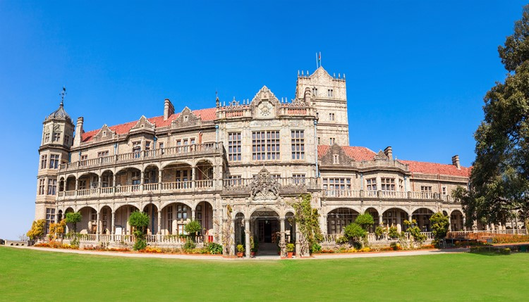 Viceregal Lodge in Shimla, India