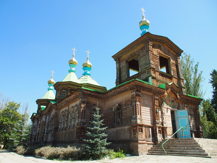 Holy Trinity Church - Karakol - Kirgizië