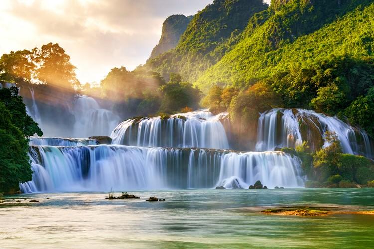 Ban Gioc watervallen