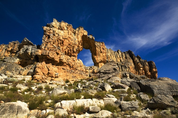 Cederberg Wilderness Area, Stadsaal Caves, Zuid-Afrika