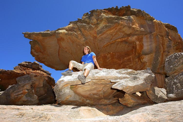 Wolfberg Cracks, Cederberg Wilderness Area, Zuid-Afrika