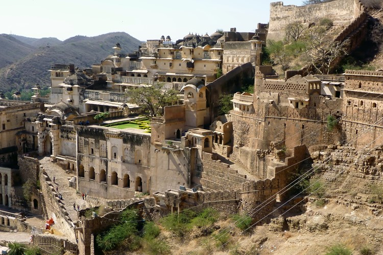 Fort in Bundi - Noord-India