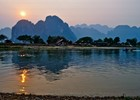 Sunset at Song river - shutterstock_51244075 - fri9thsep.jpg