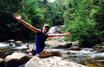 René in Sinharaja, Sri Lanka