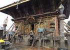 Changu Narayan een jaar na de grote aardbeving van 2015