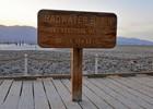 Badwater basin, laagste punt van Noord-Amerika
