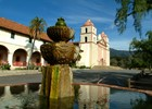 Santa Barbara Mission, Amerika reis