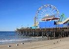 Santa Monica Pier, Californië, Amerika