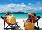 Couple on tropical beach - shutterstock_95010787 - haveseen.jpg