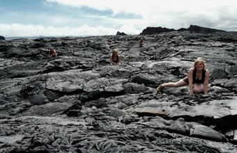 Heidi op Galapagos