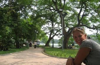 Stephanie in Vietnam