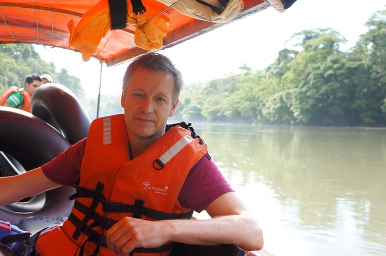 Amazone aan de Napo rivier bij Tena - Ecuador