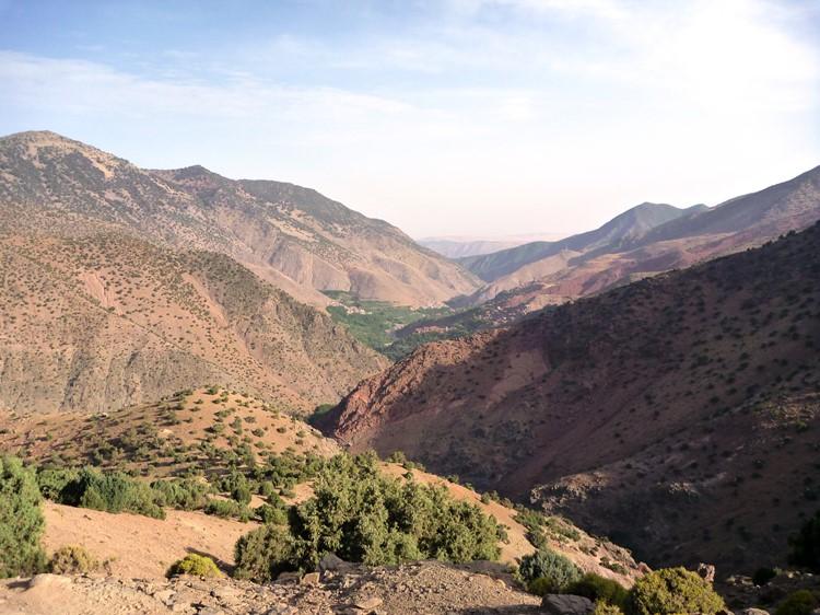 Wandelen door de bergen rondom Imlil - Marokko