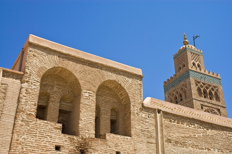 Koutoubia moskee van Marrakech - Marokko