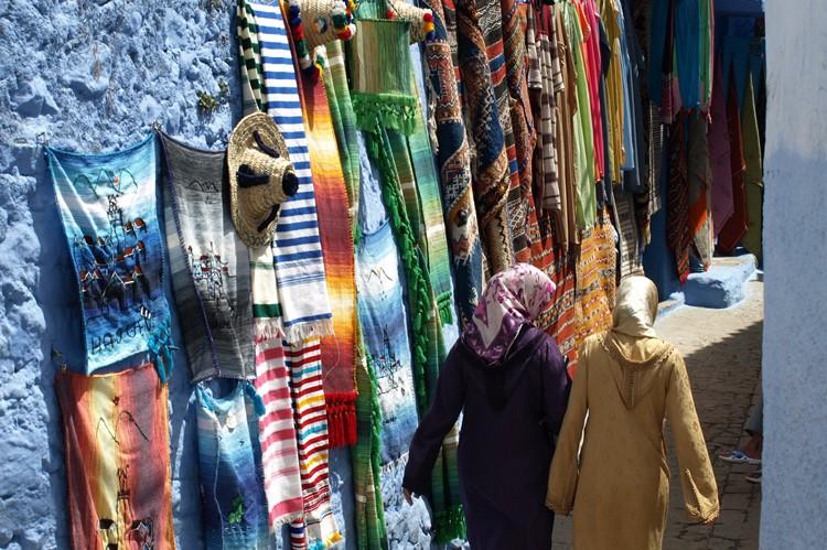 De blauwe straatjes van Chefchaouen - Marokko