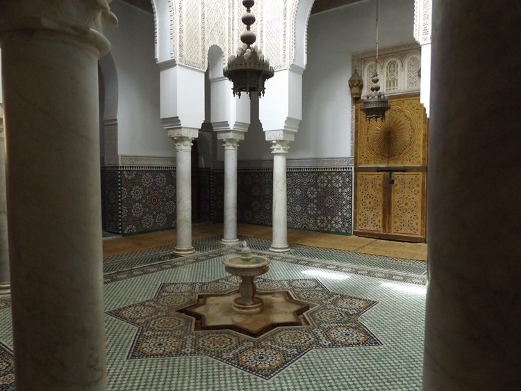 Mausoleum van Moulay Ismael in Meknes - Marokko