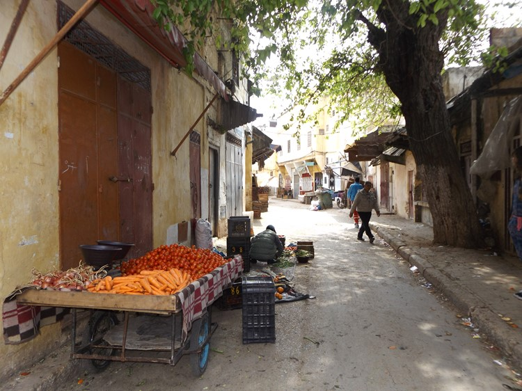 Straatje in de medina - Meknes - Marokko