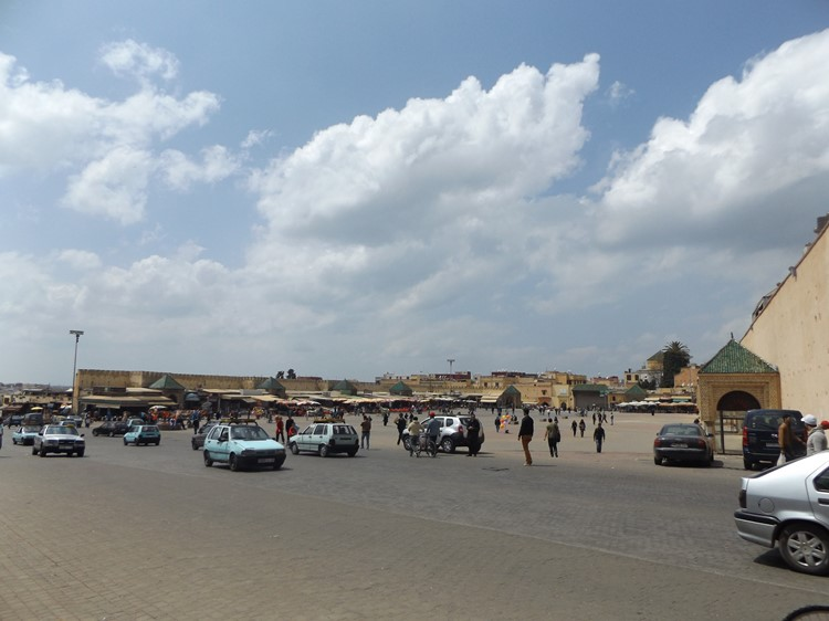 Het 'PLace Lahdim' in Meknes - Marokko
