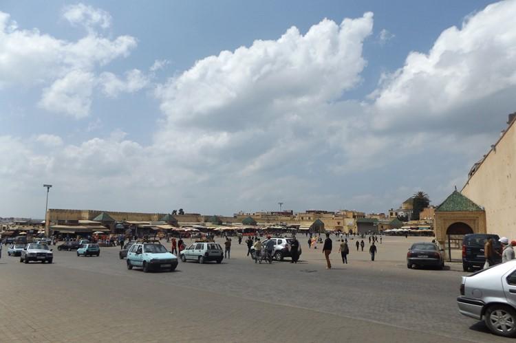 Het Place el-Hedim in Meknes - Marokko
