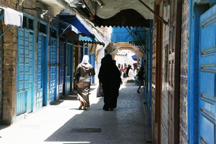 De medina van Essaouira - Marokko