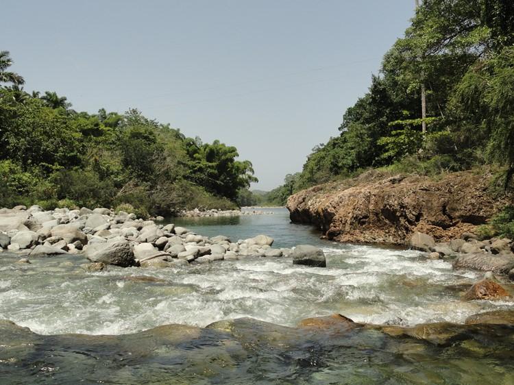 Rio Duaba, omgeving Baracoa, Cuba