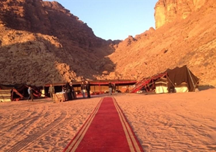 Jordanien - Zeltlager Wadi Rum