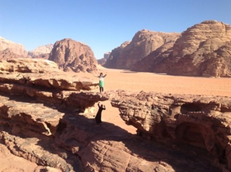 Jordanien Wadi Rum Abschluss