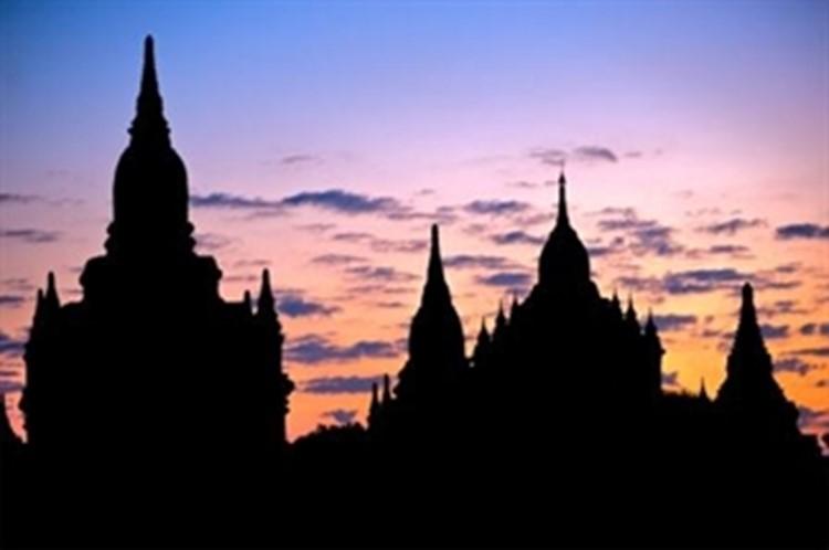 Bagan Reise Myanmar - Tempelebene