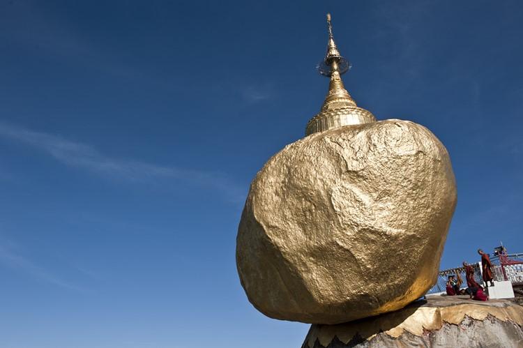 Gouden Rots van Kyaiktiyo - Myanmar