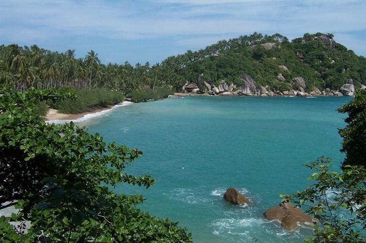 Het strand van Koh Pha Ngan