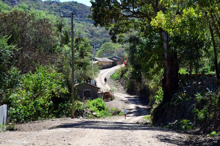 Het gehucht La Higuera op de oude handelsroute - Bolivia