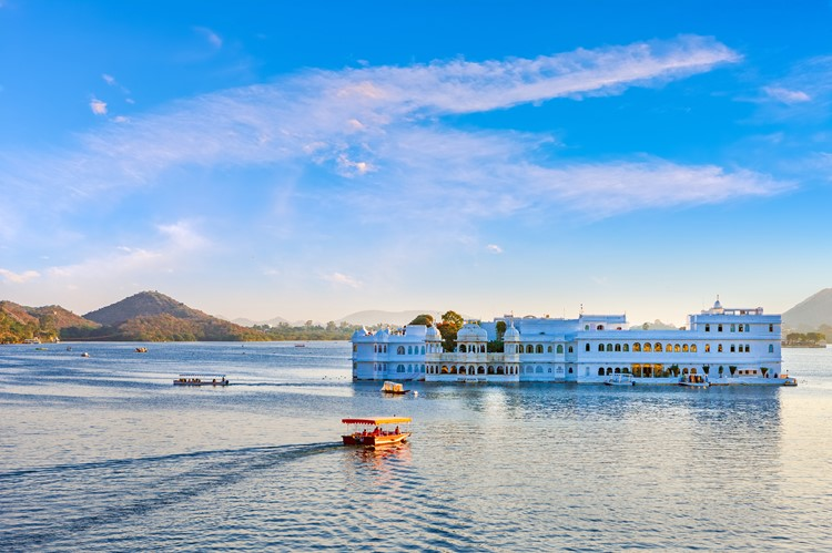 Udaipur, Lake Palace, India