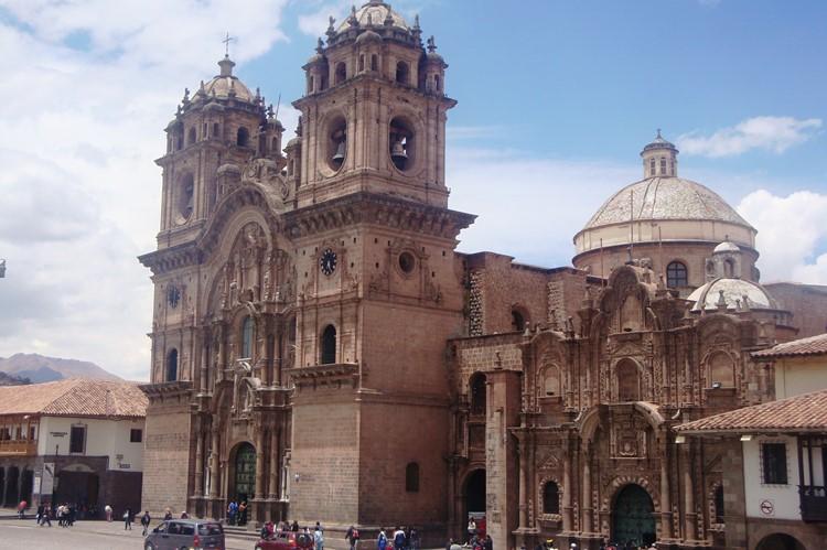 Iglesia de la Compania de Jesus in Cuzco - Zuid Peru